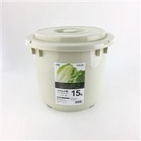 漬物樽15型 グレー