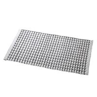 【数量限定】インド綿マット ヴェントスグラウ 50×120