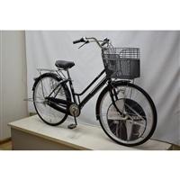 【自転車】【全国配送】KiLaCle パンクしにくい軽快車 内装3段 27インチ ブラック【別送品】