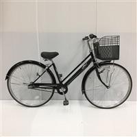 【自転車】【全国配送】KiLaLi パンクしにくいシティ車 内装3段 27インチ ブラック【別送品】