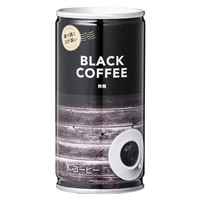 【ケース販売】コーヒー ブラック 185g×30缶(1缶あたり約33円)