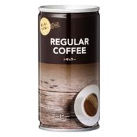 【ケース販売】コーヒー レギュラーブレンド 185g×30缶(1缶あたり約33円)