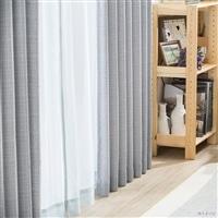 4枚組セットカーテン ウィンディアプレイン 100×135