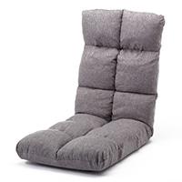 B12 Vカット低反発リラックス座椅子