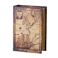 【trv・数量限定】ブック型BOX World Map