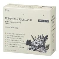 カインズ 気分をやさしく変える入浴剤 ミルキータイプ 14包(7種類×各2包)