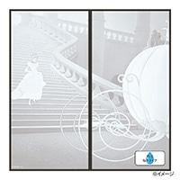 ディズニー 襖紙 プリンセス シンデレラMONO