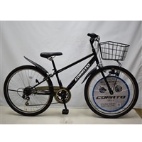 【自転車】マウンテンバイク コラート 外装6段 26インチ マットブラック
