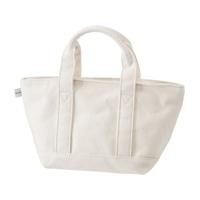 【trv】綿トートバッグS ホワイト