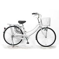 【店舗限定】【自転車】軽快車 24型 ST2 シルバー