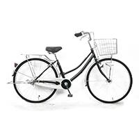 【自転車】軽快車 26型 ST3 LEDオートライト グリーン