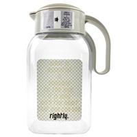 飲みごろになると柄が変わる冷水筒1.8Lメッセージ