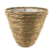 天然鉢カバー ボーダー L