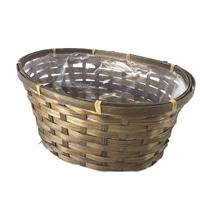 天然鉢カバー オーバル S