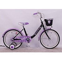 【自転車】幼児車 ジュエルボックス Jewel Box 18インチ パープル