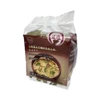減塩 2種類の国産きのこと小松菜の味噌汁 5食入り