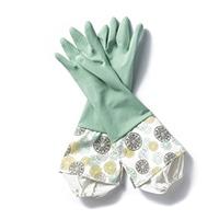 【数量限定】カバー付きゴム手袋 ライム