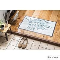 デザインフロアーマット パストフィユ 50×80 グリーン