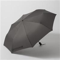 撥水折りたたみ傘 65cm グレー