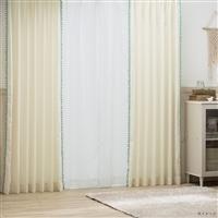 4枚組セットカーテン エデル 100×178 アイボリー