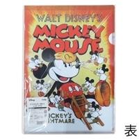 クリアホルダー ミッキーマウス 3P