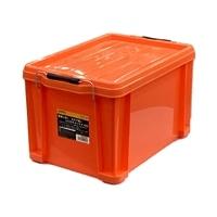 KUROCKER'S 丈夫で軽いふた付きコンテナ#25 オレンジ