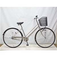 【自転車】シティ車 27インチ シルバー