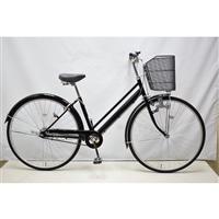 【自転車】シティ車 27インチ ブラック