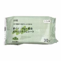 CAINZ トイレ用 銀イオンAg+配合 流せるおそうじシート ミントの香り 30枚