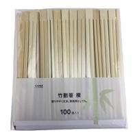 竹割箸 裸 100膳