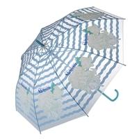 【数量限定・2018秋冬】折れにくいビニールジャンプ傘 アリエル