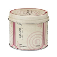 CAINZ 蚊取り線香 30巻缶 アロマローズ