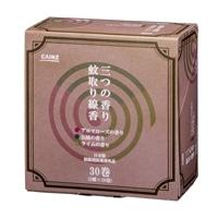 CAINZ 蚊取り線香 3つの香りA 30巻 箱