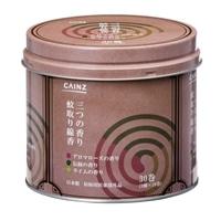 CAINZ 蚊取り線香 3つの香りA 30巻 缶