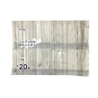CAINZ パルプ100%ポケットティシュー 10組×20個パック