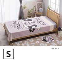 【2018秋冬】ディズニー フランネル毛布ミッキー&ミニー140×190