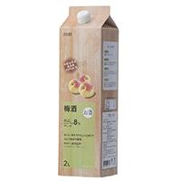 和歌山県産南高梅100%使用の梅酒 2L
