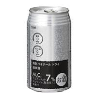 【ケース販売】焼酎ハイボール ドライ 強炭酸 350ml×24本