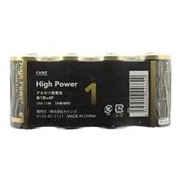 カインズ ハイパワー アルカリ乾電池 単1形×4P