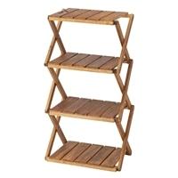 木製折りたたみ4段