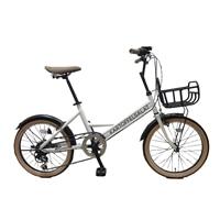 【自転車】ミニベロ KARTOFFELSALAT 外装6段 20インチ ホワイト【別送品】