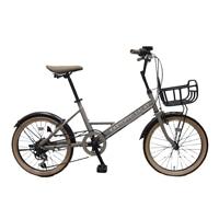 【自転車】ミニベロ KARTOFFELSALAT 外装6段 20インチ グレー