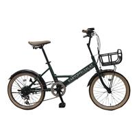 【自転車】ミニベロ KARTOFFELSALAT 外装6段 20インチ グリーン【別送品】
