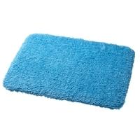 低反発ふんわり吸水バスマット 45×60cm ブルー