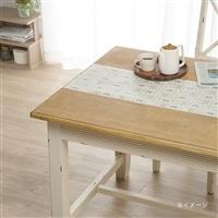 貼ってはがせるテーブルクロス シンプルミッキーマウス 30×150