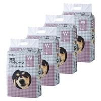 【ケース販売】Pet'sOne 薄型ペットシーツ ワイド 74枚(1枚あたり 約13.4円)[4549509459422×4]