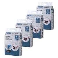 【数量限定・ケース販売】Pet'sOne 強力消臭 炭入り ペットシーツ レギュラー 80枚  [4549509459521×4]