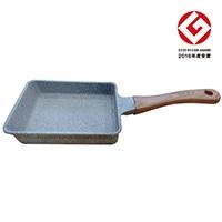 ストーンマーブル エッグパン 15×18cm