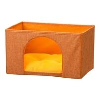 インナーボックス型ペットハウス 横型 オレンジ