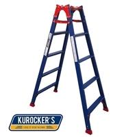 KUROCKER'S はしご兼用脚立ワイド踏ざんタイプ150CM CHK150BR